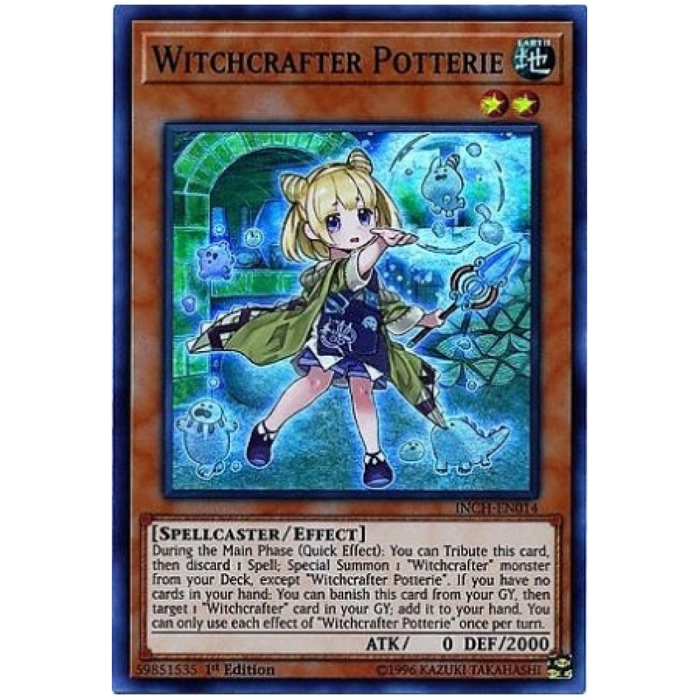 Witchcrafter Potterie [ INCH-EN014 - Super ]