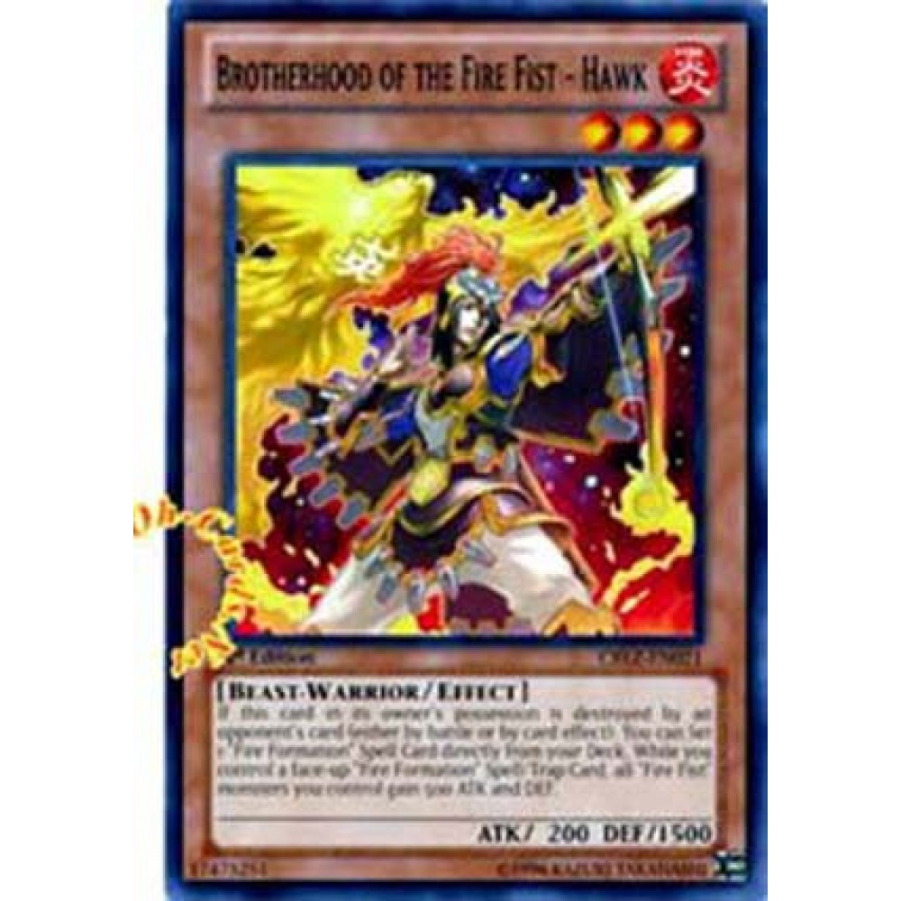 Brotherhood of the Fire Fist - Hawk [ AP02-PT008 - Super ] - Colyseum