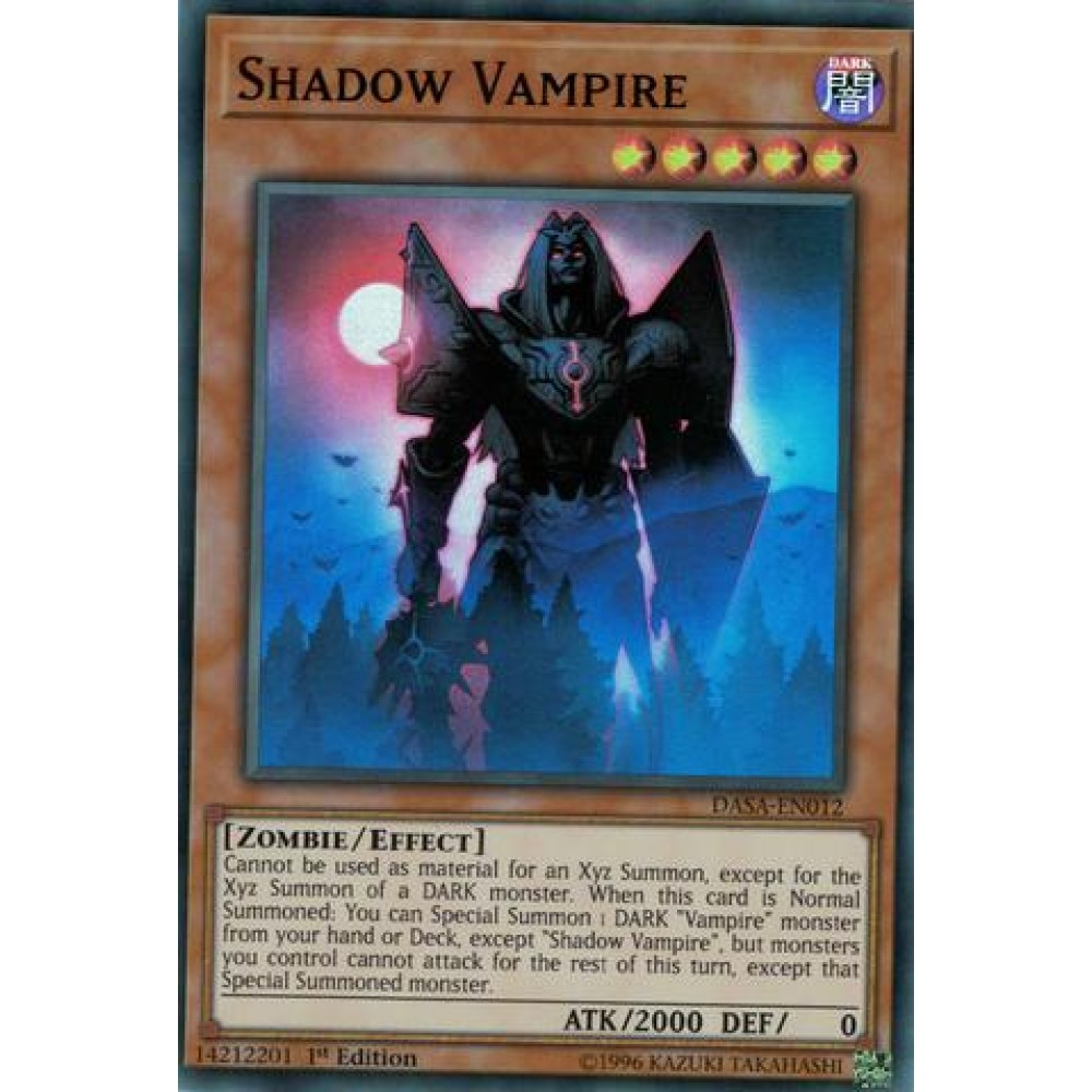 Shadow Vampire [ DASA-PT012 - Super Rare ]