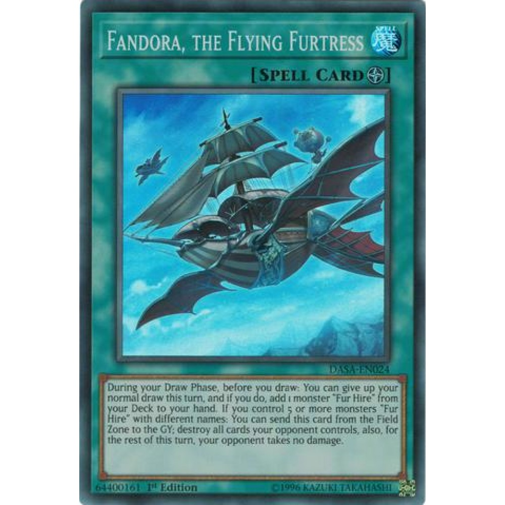 Fandora, the Flying Furtress [ DASA-PT024 - Super Rare ]