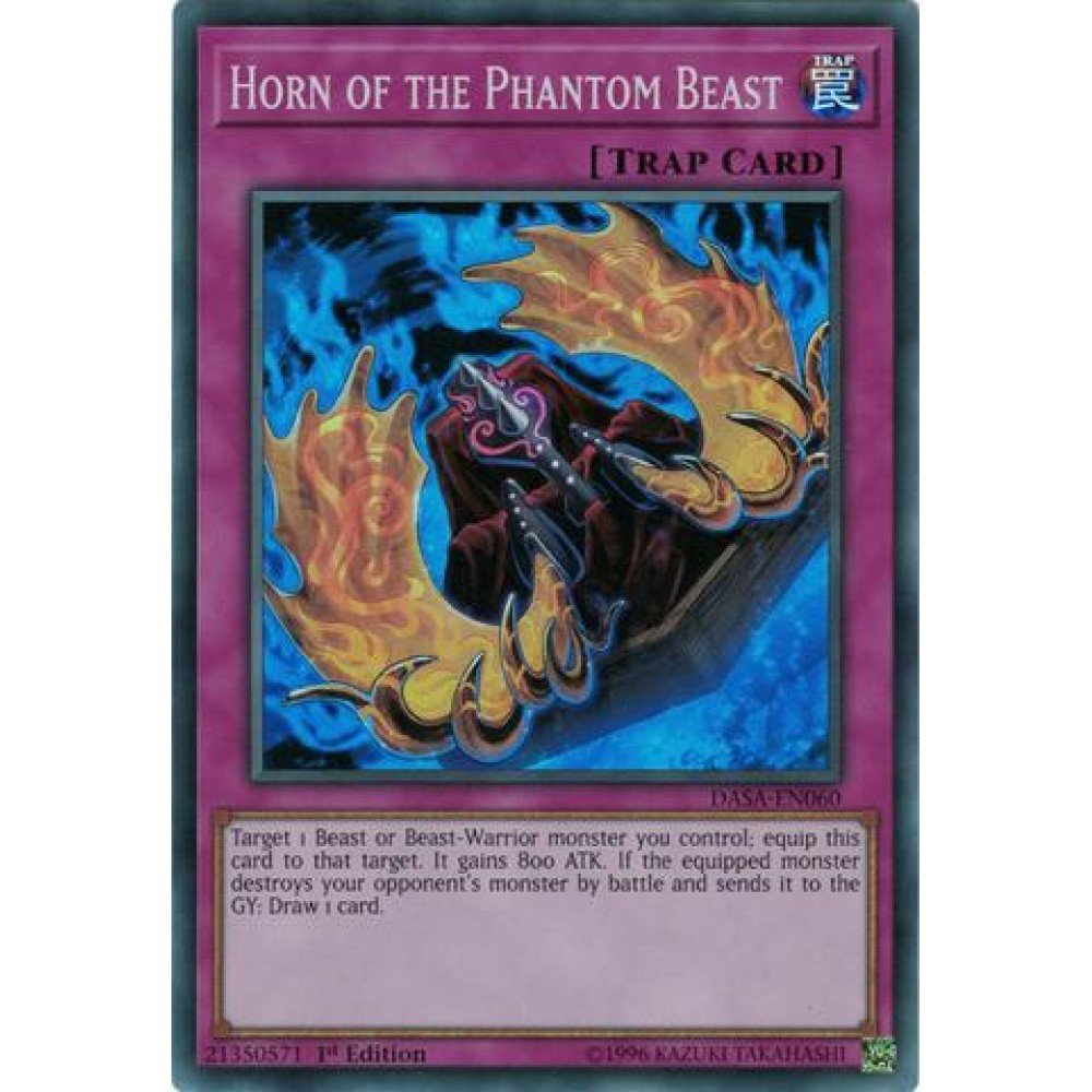 Horn of the Phantom Beast [ DASA-PT060 - Super Rare ]