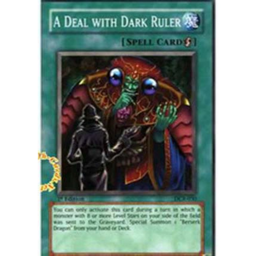 A Deal With Dark Ruler [ DR1-PT192 - Common ] - Colyseum