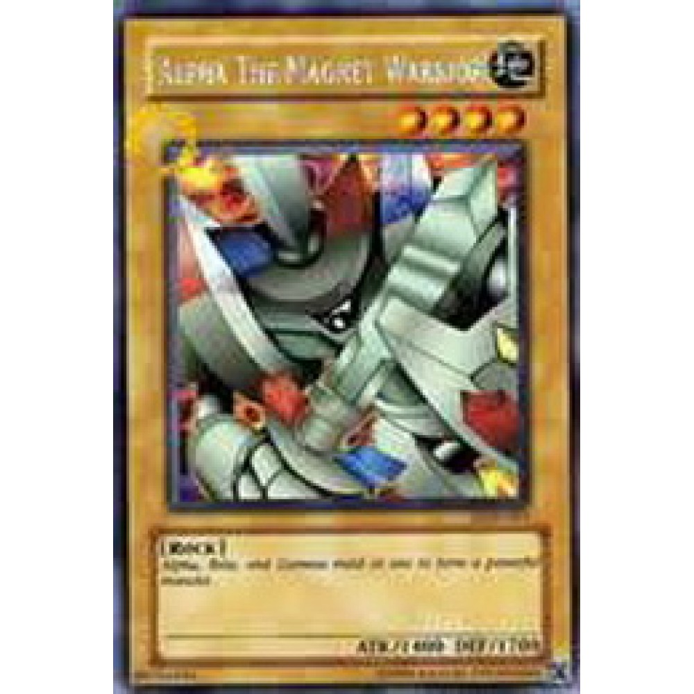 Alpha the Magnet Warrior [ DOR-EN001 - Promo ] - Colyseum