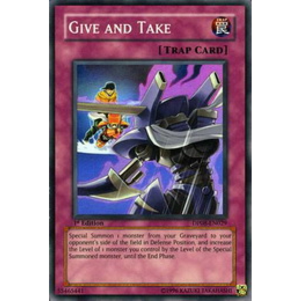 Give and Take [ DP08-EN029 - Super ] - Colyseum