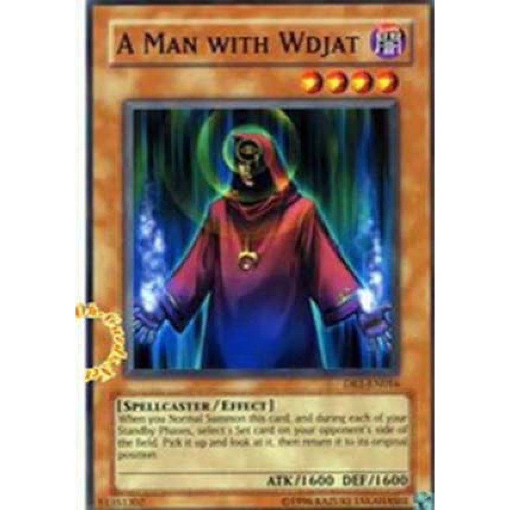 A Man With Wdjat [ DR1-EN016 - Common ] - Colyseum