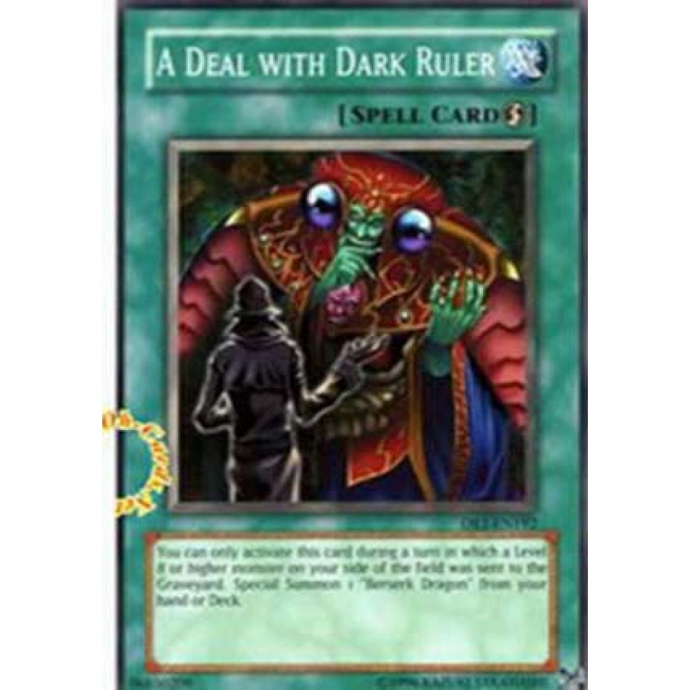 A Deal With Dark Ruler [ DR1-EN192 - Common ] - Colyseum