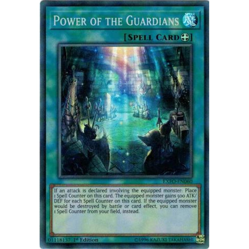 Power of the Guardians [ EXFO-PT060 - Super Rare ]