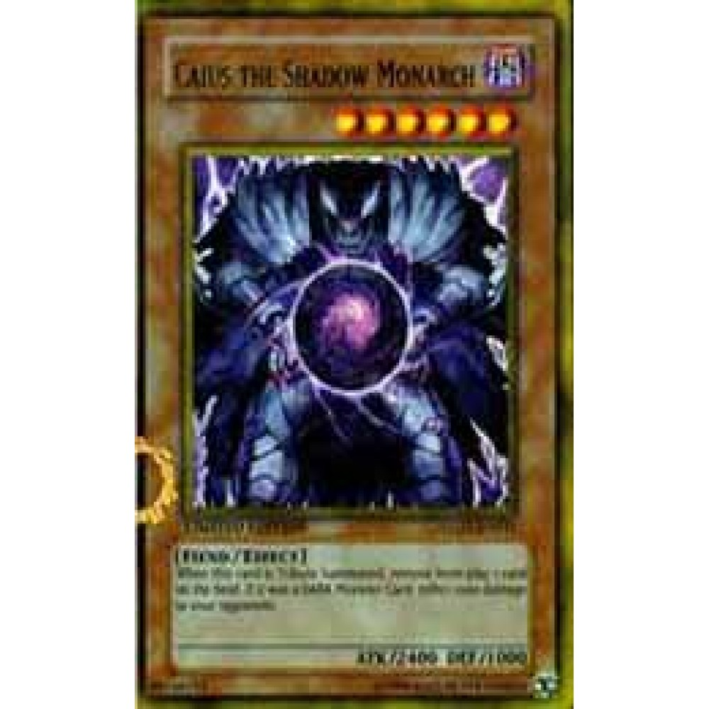 Caius the Shadow Monarch [ PGLD-PT066 - Gold ] - Colyseum