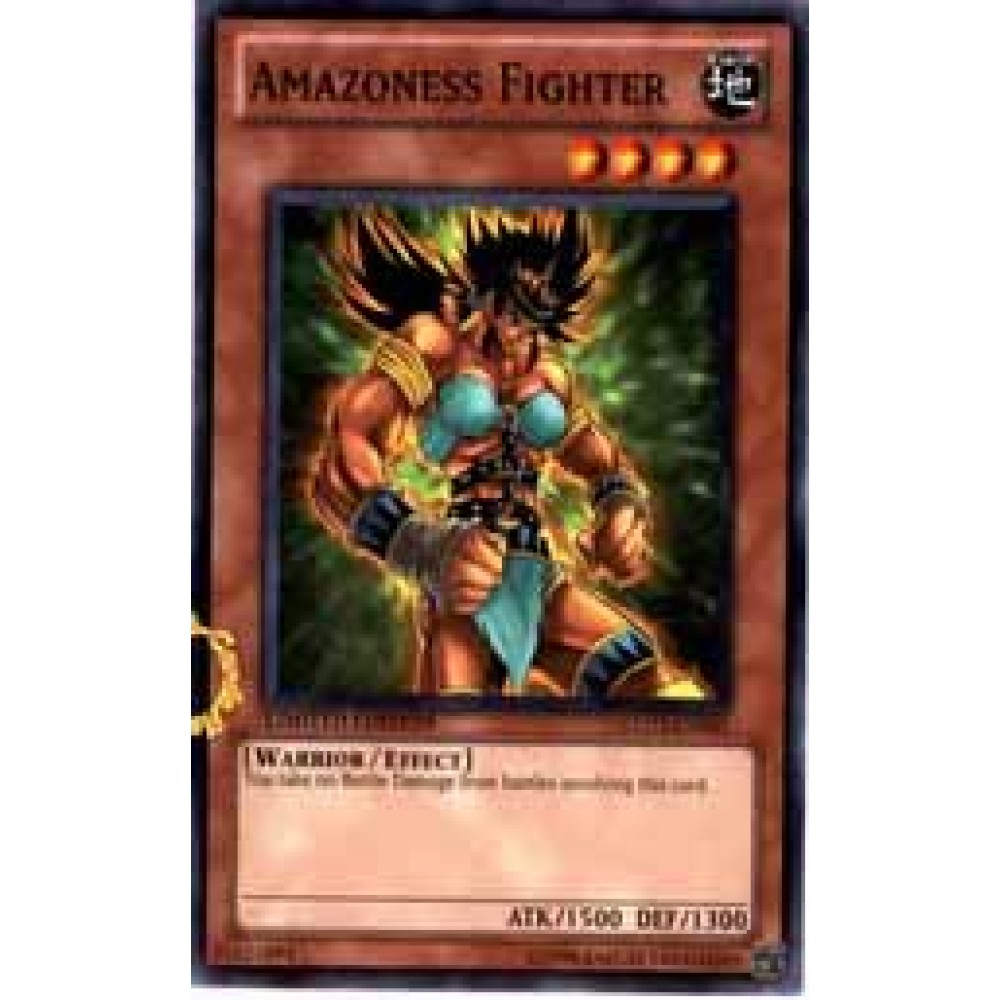 Amazoness Fighter [ GLD3-EN005 - Common ] - Colyseum