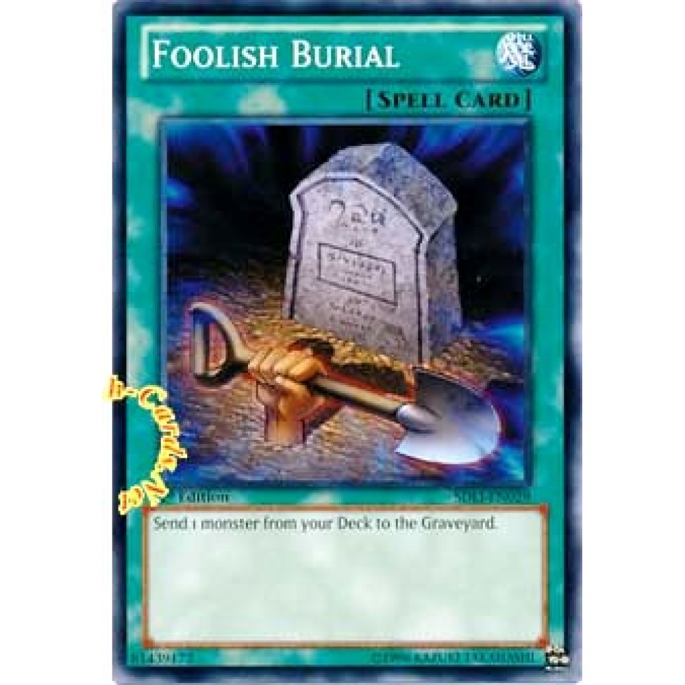 Foolish Burial [ SDLI-EN029 - Common ] - Colyseum