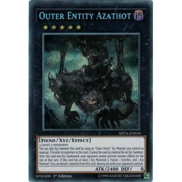 Outer Entity Azathot [ SHVA-PT018 - Secret Rare ]