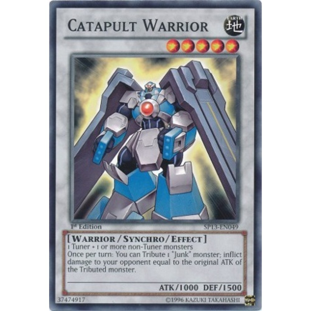 Catapult Warrior [ YF02-EN001 - Ultra ] - Colyseum