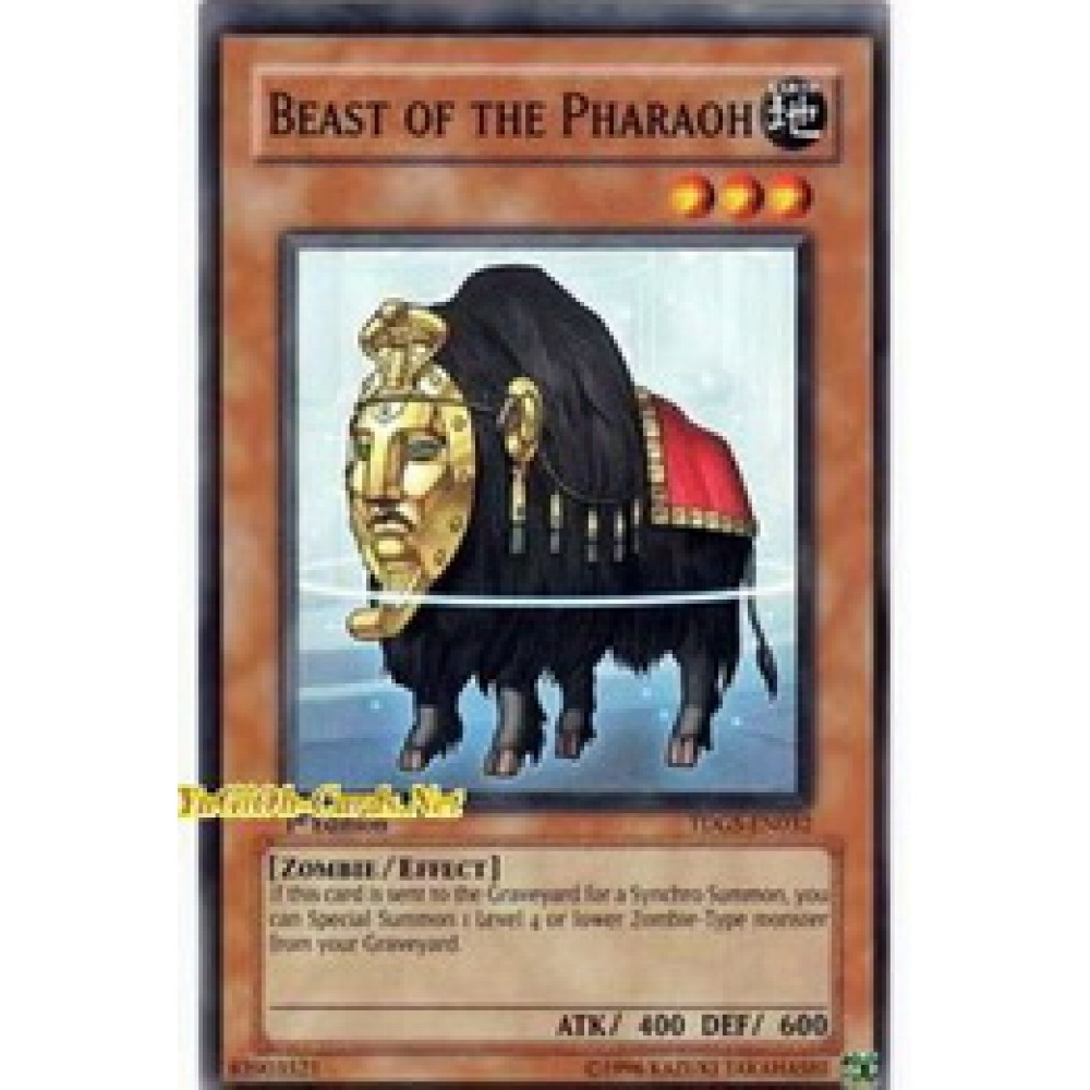Beast of the Pharaoh [ TDGS-EN032 - Common ] - Colyseum