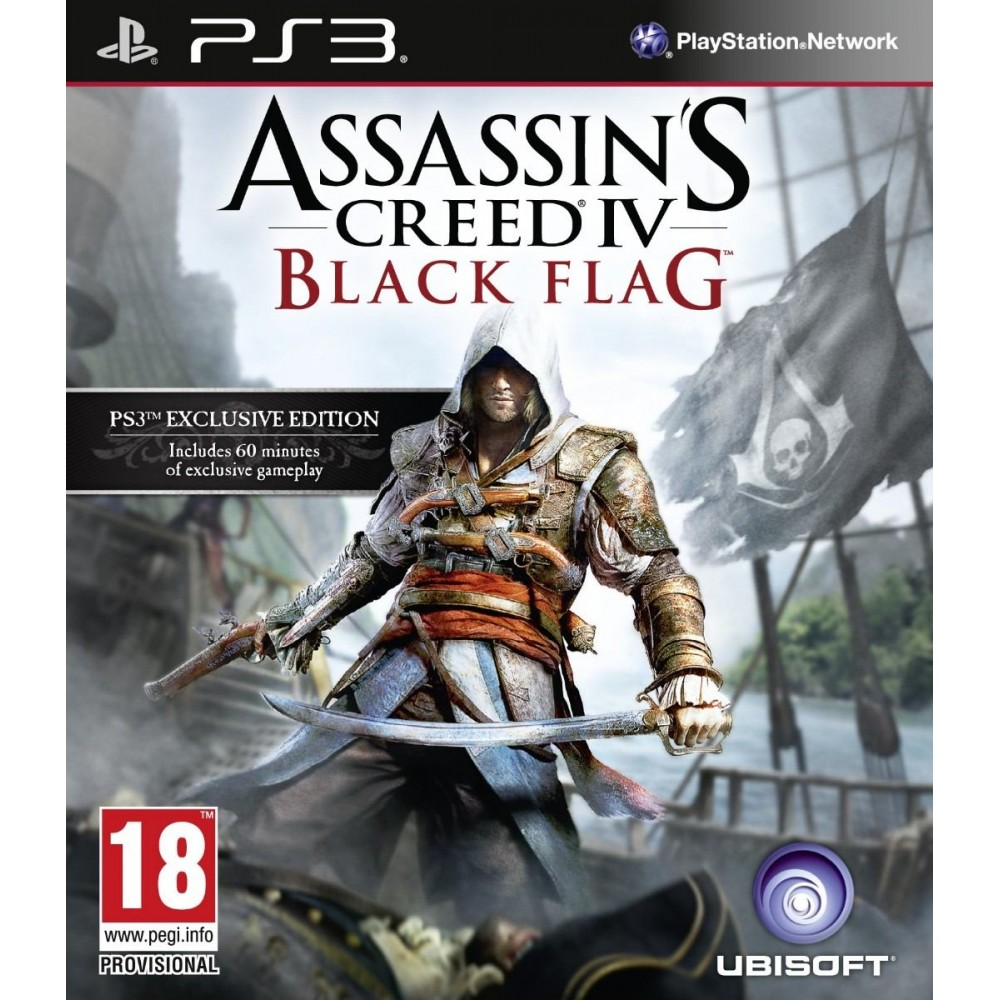 Assassins Creed Black Flag - PS3 Usado