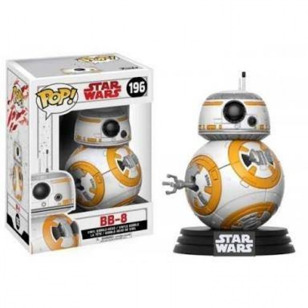 Funko Pop - Star Wars - BB-8 - 196