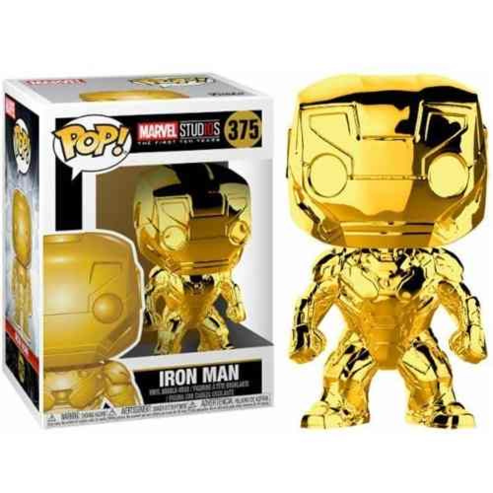 Funko Pop - Marvel Studios - Chrome Iron Man - 375