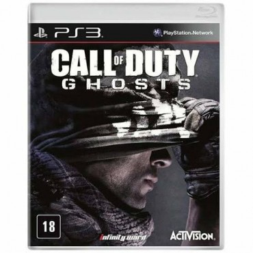 Call of Duty Ghosts - PS3 Usado