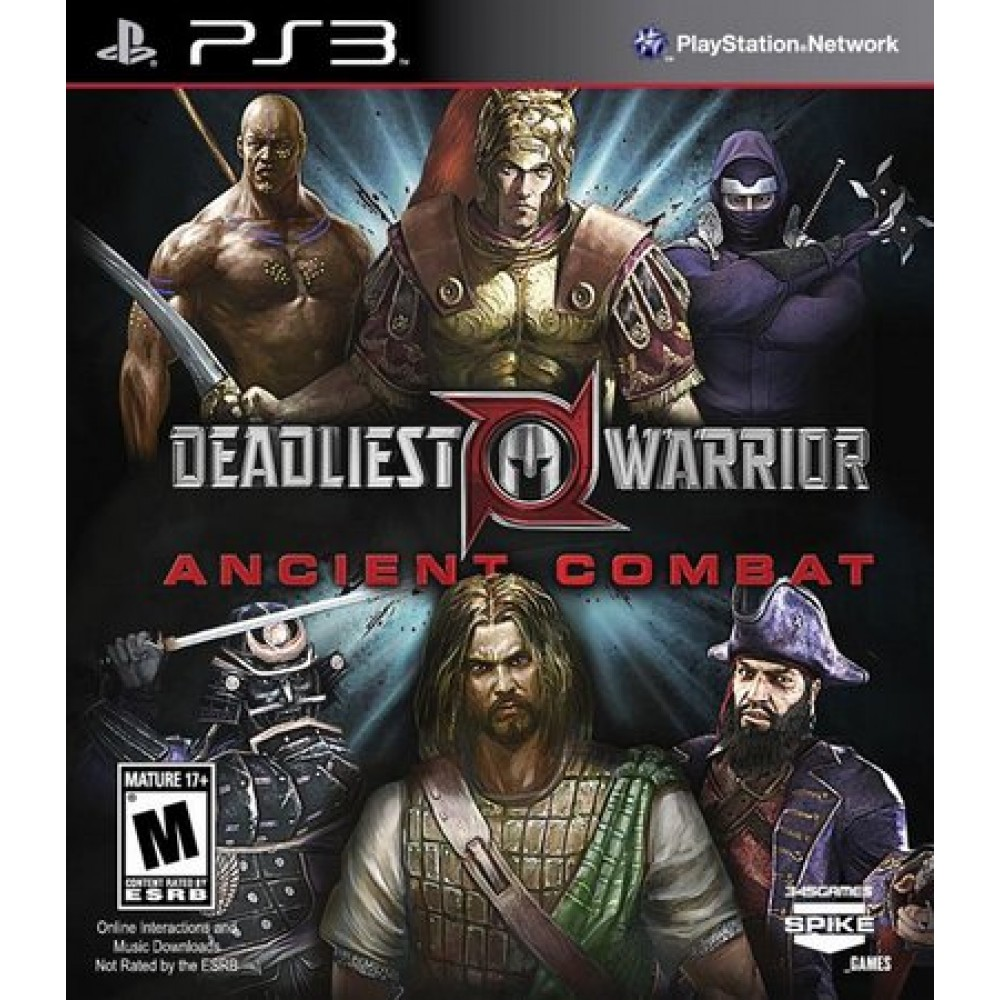 Deadliest Warrior - Ancient Combat - PS3 Usado