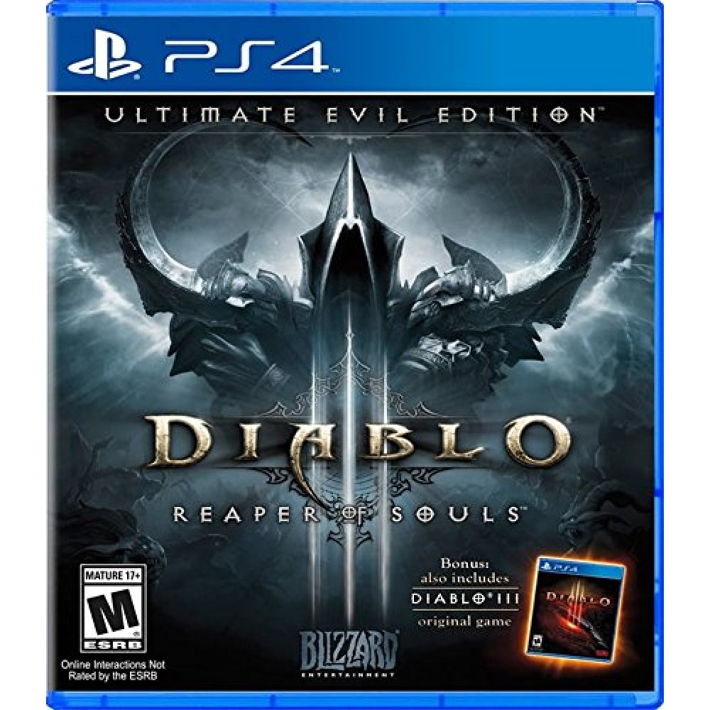 Diablo III Reaper of Souls Ultimate Evil Edition - PS4 Usado