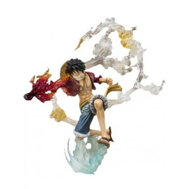 Action Figure Luffy Battle Version Bandai New World - Colyseum