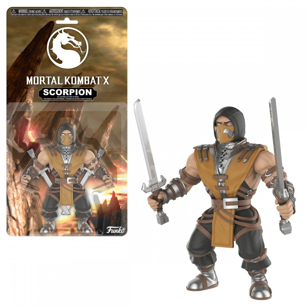 Funko Action - Mortal Kombat - Scorpion