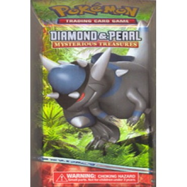 Diamond & Pearl II Mysterious Treasures Preconstructed Skull Charge Theme Deck