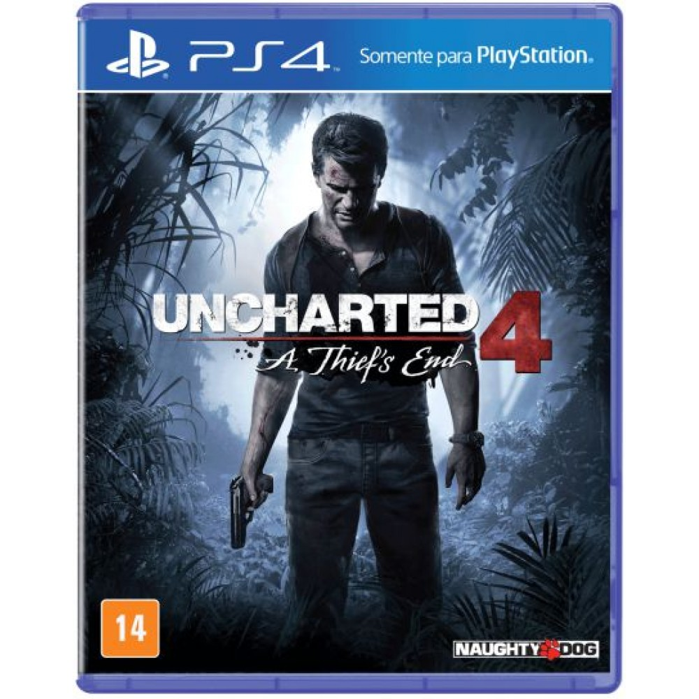 Uncharted 4 - A Thief's End - PS4 Usado