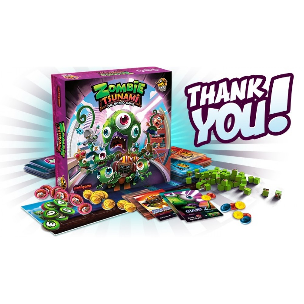 Zombie Tsunami (Board Game)