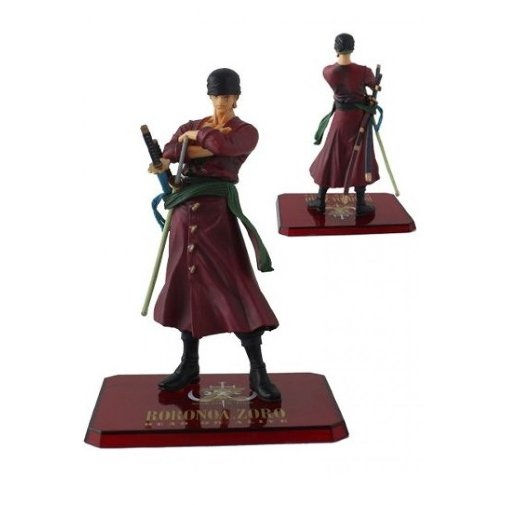 Figure Roronoa Zoro One Piece - 14,5cm Serie Red Anime Manga - Colyseum